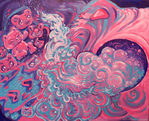 Cosmic Cotton Candy