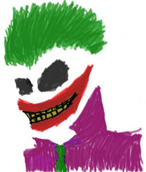 Marked Joker by crazyredwood