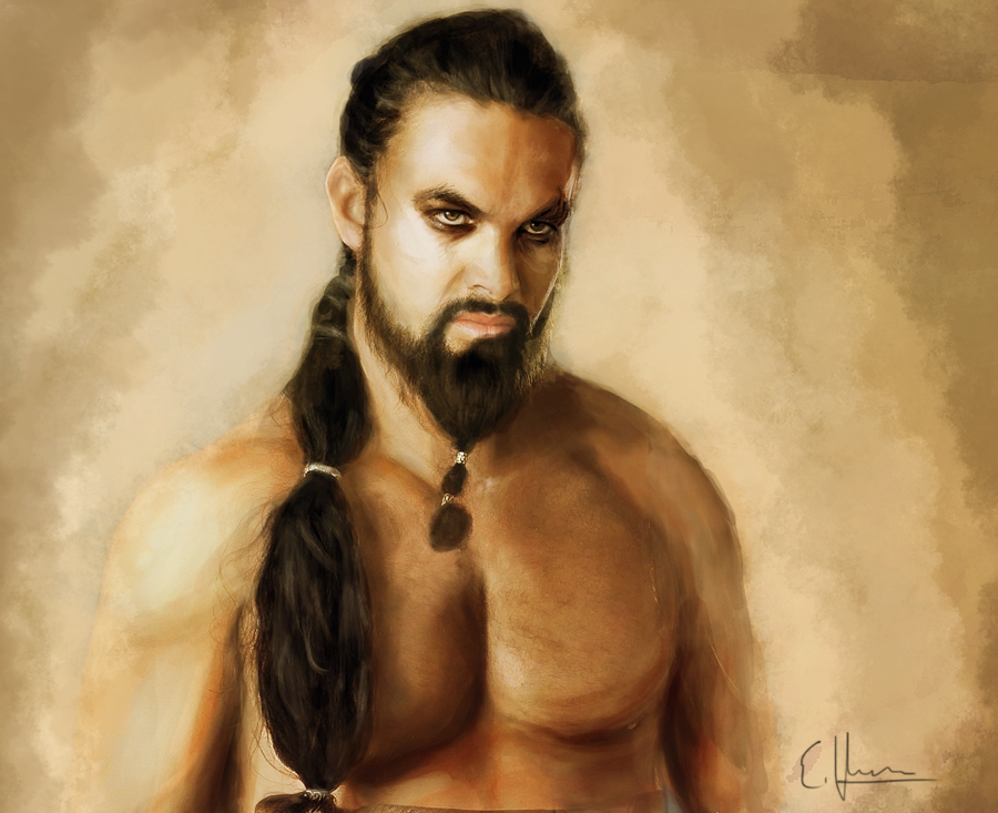 dibujos - dibujos de  Khal Drogo Khal_drogo_by_yellowtwist-d629mj5