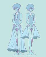 GENDERBEND steven universe - blue pearl by KYOTEMERU-ARTS