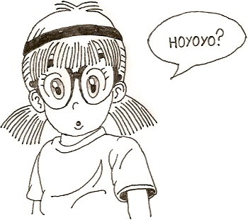 Arale Hoyo? xD by Kaboong