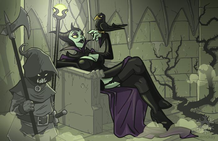 Maleficent 2 by lukemckay