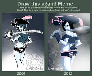 Draw again challange by lukemckay