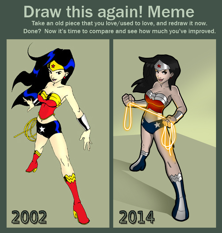 Wonderwoman by lukemckay