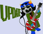 Nepeta strumming out the Alarm