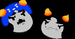 a Grumpy pair by CptNameless