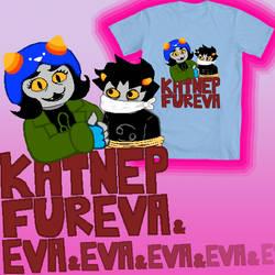 KatNep Fureva t-shirt design by CptNameless