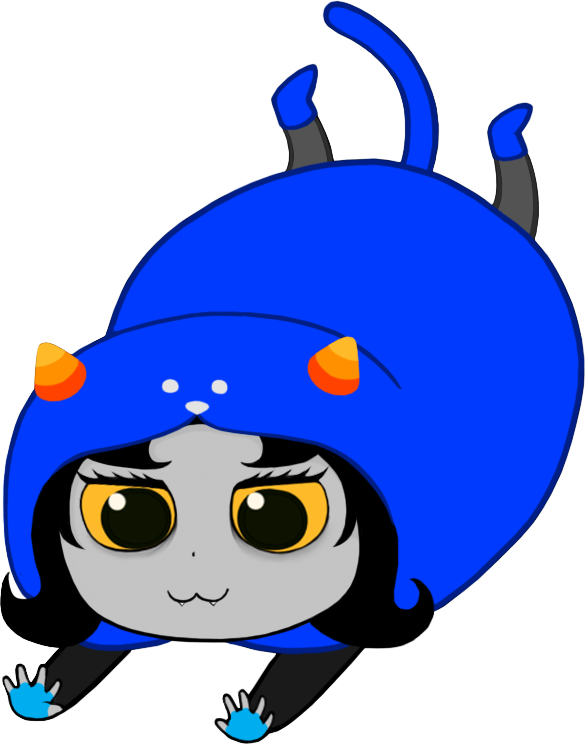 Himouto Nepeta-chan power slide by CptNameless