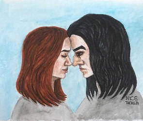 Lily and Severus by NiceTaralezh