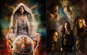 Emma Swan and LOST GIRL by andersapell