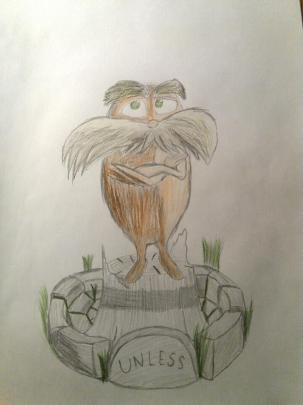 The Lorax by Hpixel