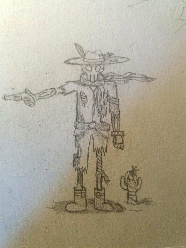 Old's West dead man by Hpixel