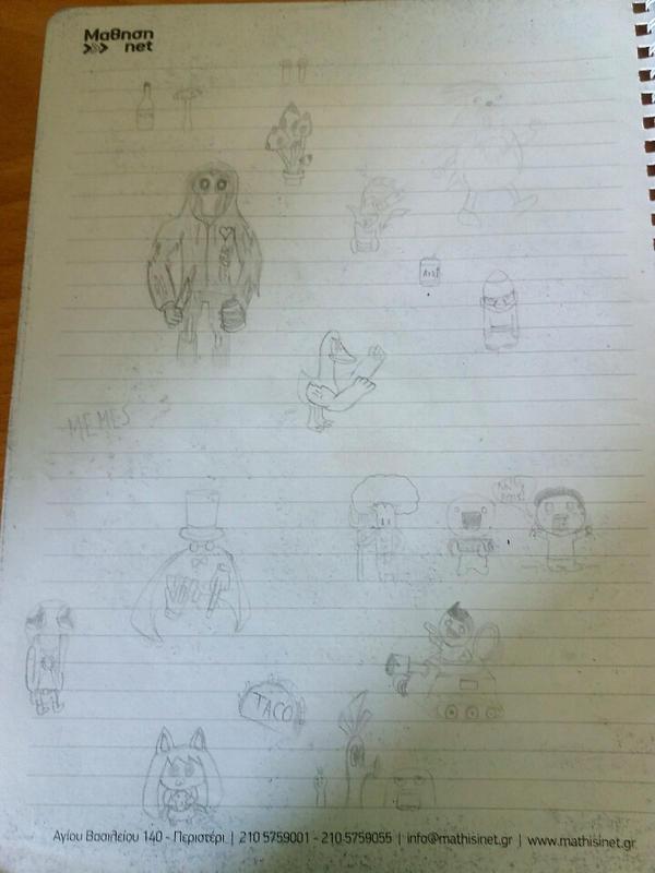Hp doodles pt2 by Hpixel