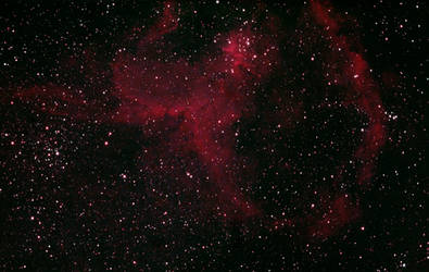 Heart Nebula IC1805 in colors (2019-11-09) by archonom