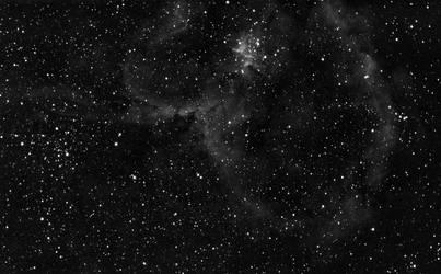 Heart Nebula IC1805 in HA (2019-11-09) by archonom