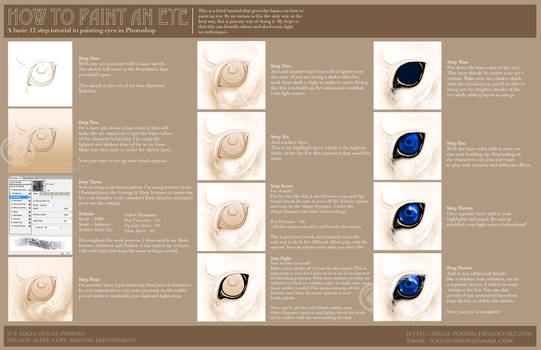 Tutorial - How to paint an eye