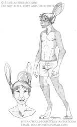 Amos - Character Sketch
