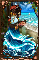 Orisha Yemaya Asesu by soulspoison