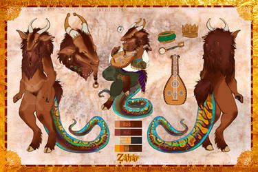 Zahar Reference Sheet [Commission] by soulspoison
