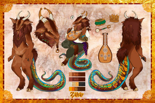 Zahar Reference Sheet [Commission]