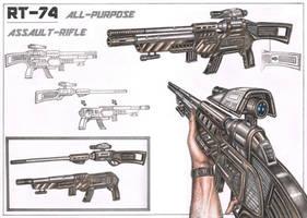 Assault Rifle design concept