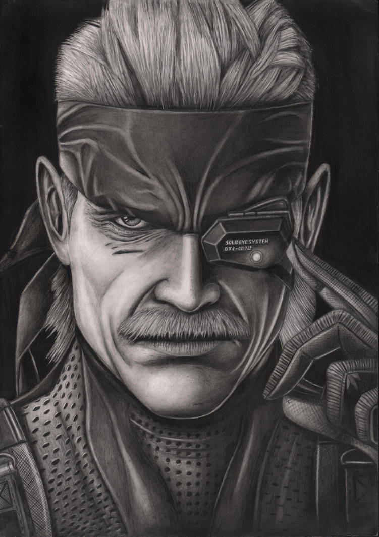 Solid Snake by Pen-Tacular-Artist
