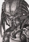'Predator' graphite drawing