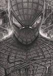 'Spiderman' Graphite Drawing