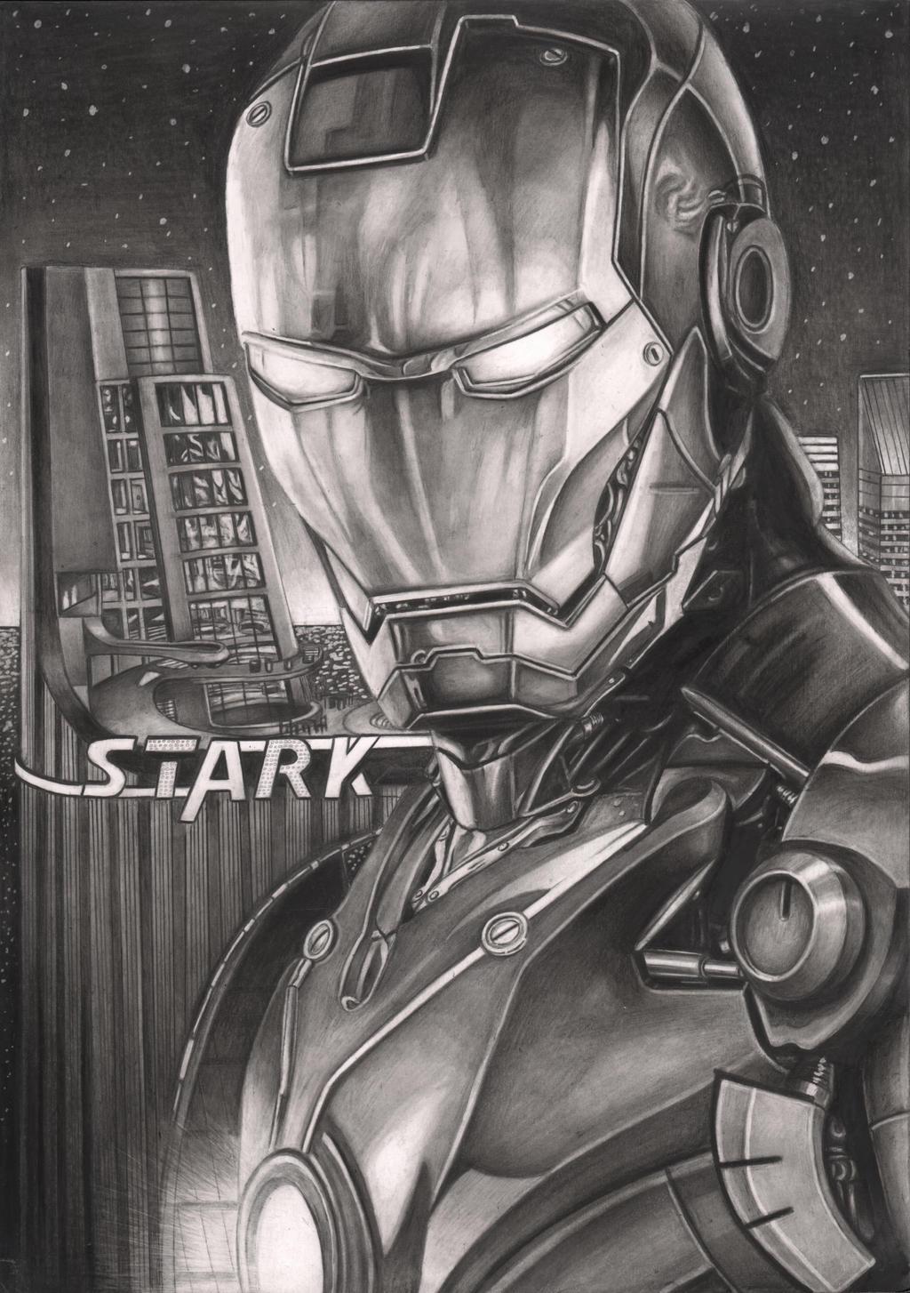 iron man graphite drawing by pen tacular artist on deviantart