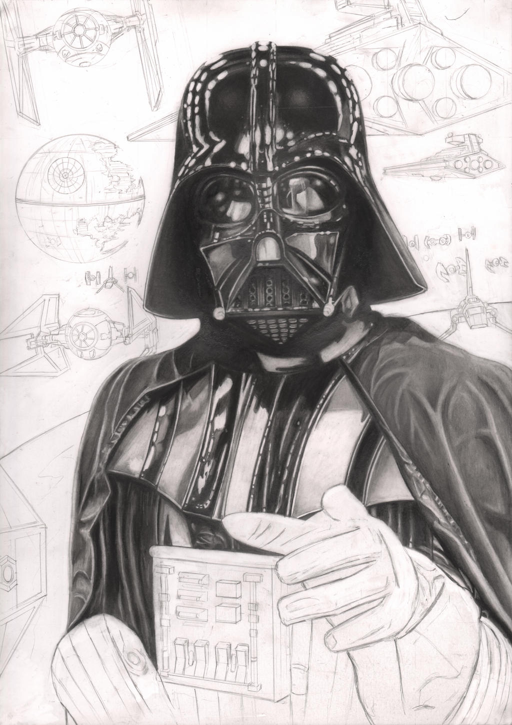 'THE EMPIRE NEEDS YOU' 45% wip by Pen-Tacular-Artist