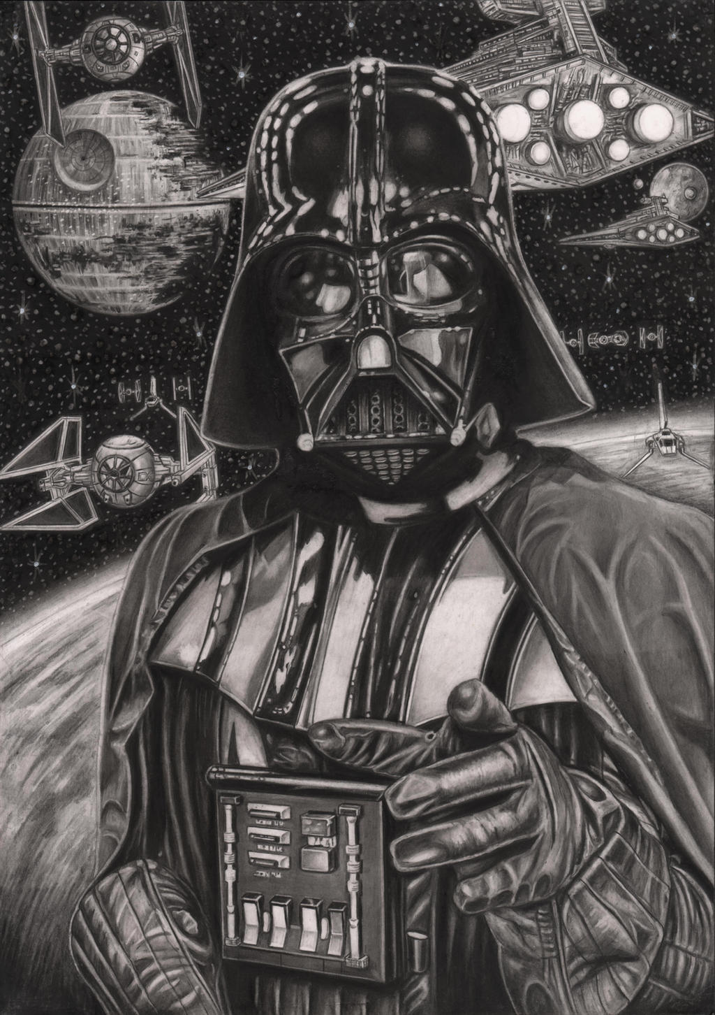 'THE EMPIRE NEEDS YOU' Graphite drawing by Pen-Tacular-Artist