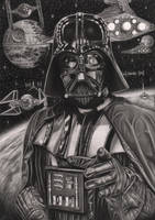 'THE EMPIRE NEEDS YOU' Graphite drawing