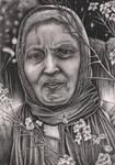 Graphite portrait of my 'MUM'