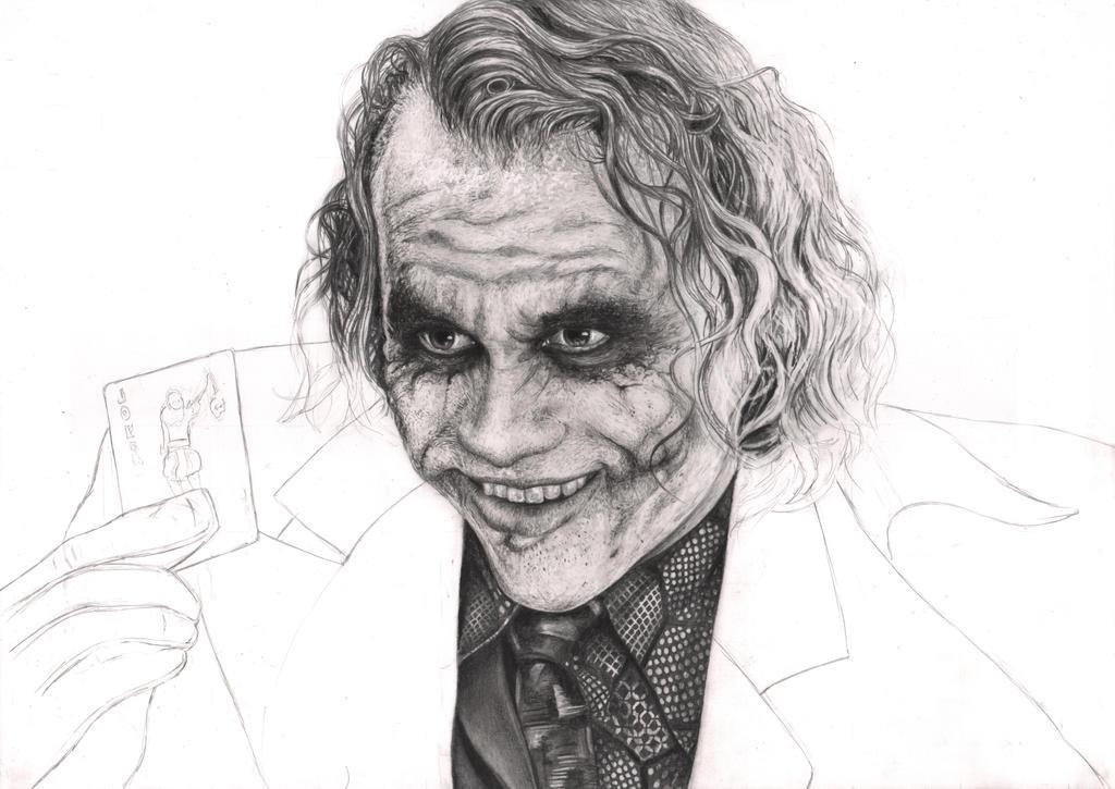 'The Joker' 35% WIP by Pen-Tacular-Artist