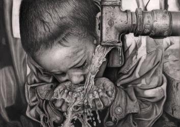 'THIRSTY BOY' by Pen-Tacular-Artist