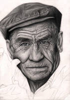 'OLD MAN' 70% wip by Pen-Tacular-Artist