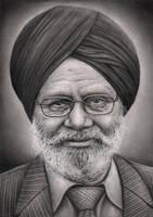 'Jagtar Singh Tattal' portrait by Pen-Tacular-Artist