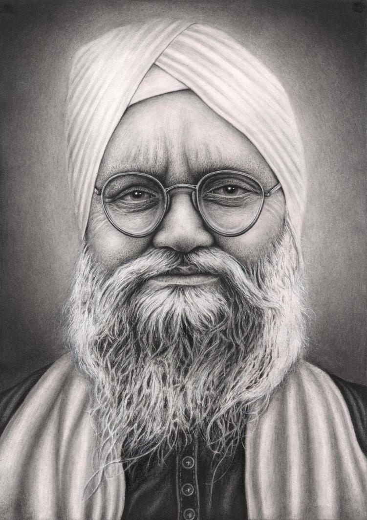 'Sant Isher Singh Ji' by Pen-Tacular-Artist