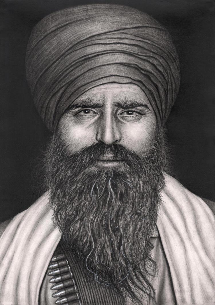 'Sant Jarnail Singh Bhindranwale' by Pen-Tacular-Artist