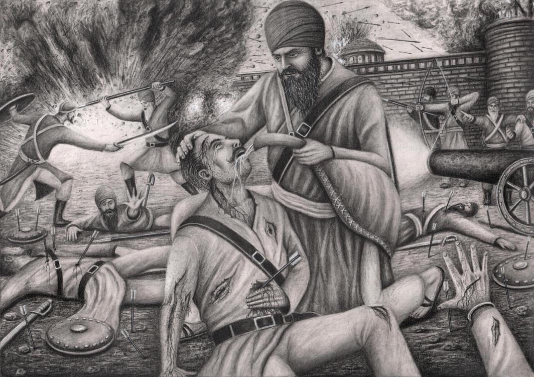 'Bhai Kanhaiya Singh Ji' by Pen-Tacular-Artist