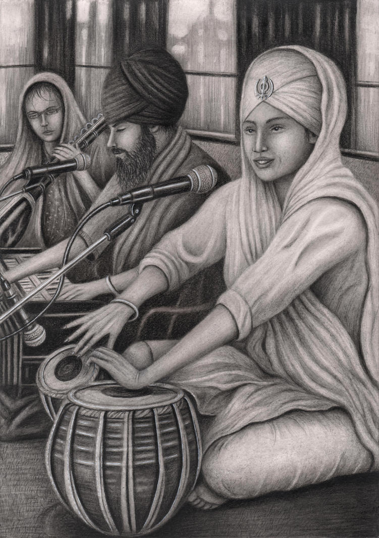 Kirtan by Pen-Tacular-Artist