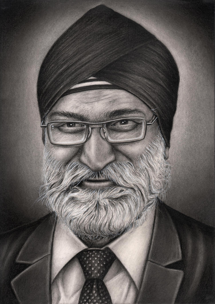 Private commision 'Gurmit Singh Bhogal' by Pen-Tacular-Artist