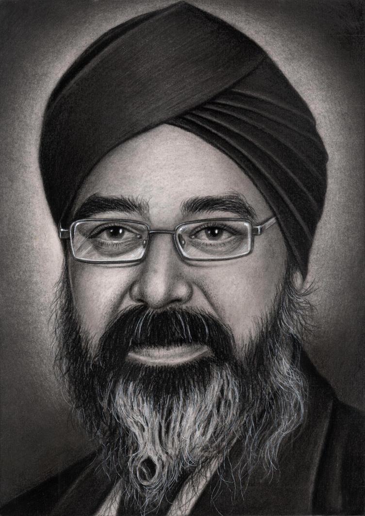Private commission for 'Harmeet Singh Hunjan' by Pen-Tacular-Artist