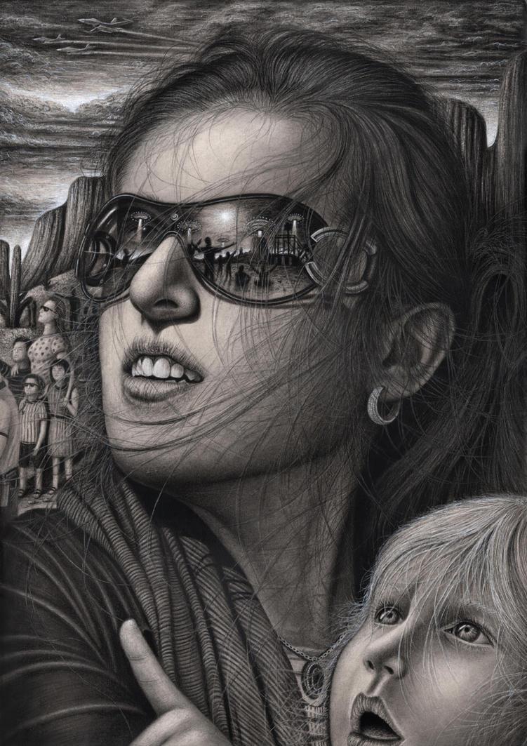 'CLOSE ENCOUNTERS' by Pen-Tacular-Artist