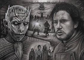 'Game of Thrones, Hardhome' by Pen-Tacular-Artist