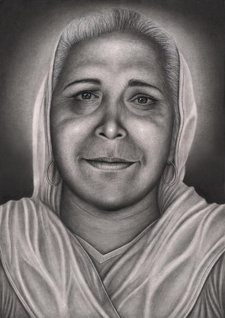 Private commission for 'Rani Jande' of her Mother by Pen-Tacular-Artist