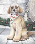 Commissioned Pet portrait of 'BENTLEY'
