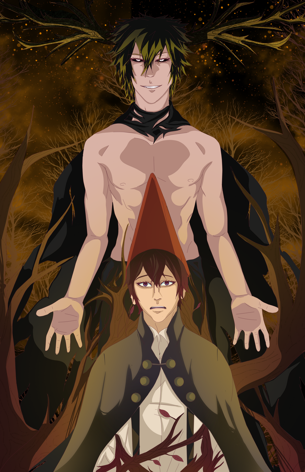 Over The Garden Wall Wirt And The Beast By Ototobo On Deviantart