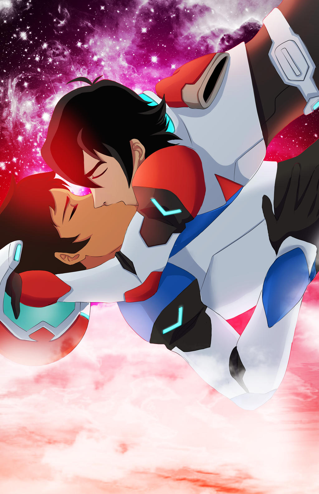 Klance: Space Gays by ototobo