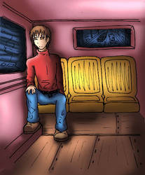 At the bus
